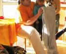 Besuch von Krankenschwester Derya