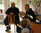 Jan Hauerken und Marc van den Belt von der Freiwilligen Feuerwehr Südbollenhagen