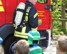 Mit großem Interesse verfolgten die Kinder die Vorführung.